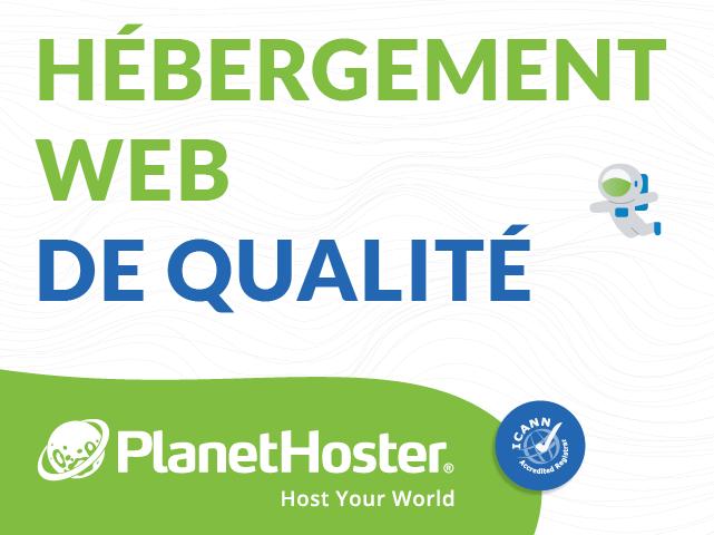 Hébergement web de qualité